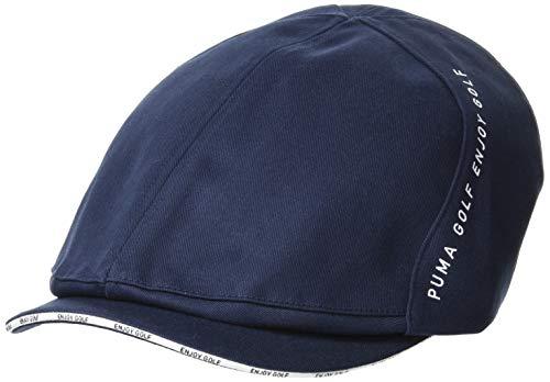 [プーマ] ハンチング ゴルフ ツイルハンチング メンズ 866568 ネイビー ブレザー 日本 OneSize (FREE サイズ)