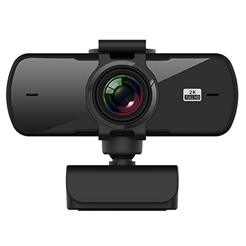Timagebreze PC05 USB Webcam 2K CáMara de Computadora de Alta DefinicióN CáMara de Conferencia con Controlador de MicróFono CáMara Web de Video Gratis