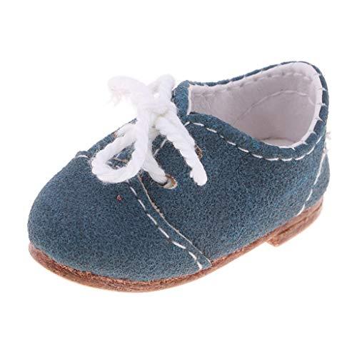 B Blesiya Miniatura Zapatos Casuales con Cordones para 1/6 BJD Dolls para...