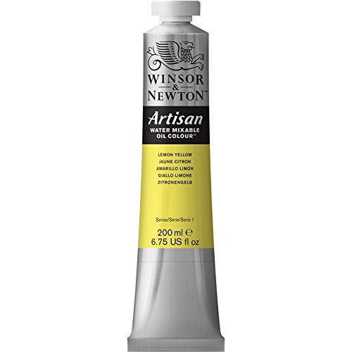 Winsor & Newton Artisan Tubo Óleo Miscible en Agua, 200 ml, Amarillo Limón