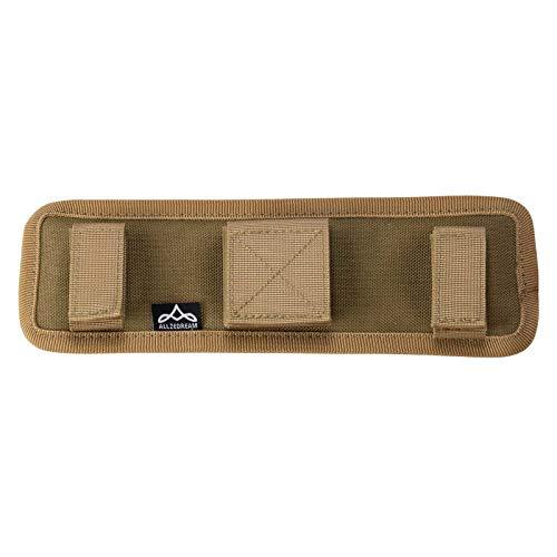 Allzedream Shoulder Strap Pad for Duffel Bag Laptop Guitar Camera (Brown B)