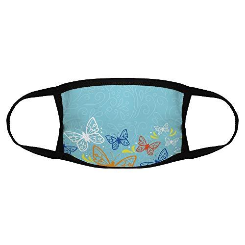 Volwassen Gewone Masker Vlinder Patroon Behang Motief Motten en Vlinders Pollinator color9 Een maatOutdoors