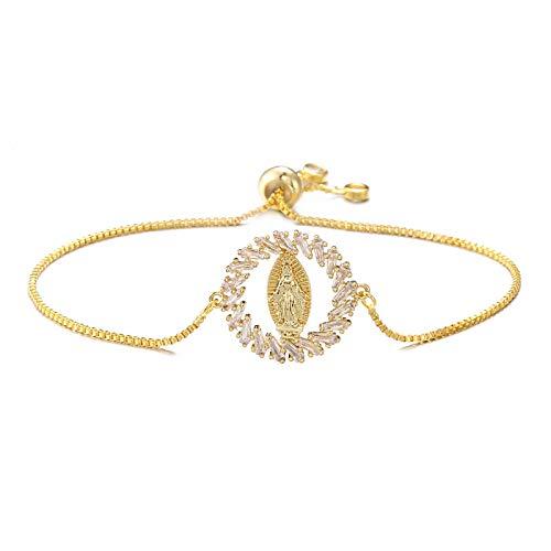 Mano Pulseras Brazalete Joyería Mujer Diseño Único Pulsera con Encanto Lindo Caja De Oro Pulsera Y Brazalete Ajustable N
