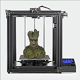 WENHU Impresora 3D Industrial de Alta precisión Impresora de Bricolaje con Pantalla de ángulo de 45 ° recuperación de Falla de Potencia y Impresora de Estructura Cerrada 220x220x250mm