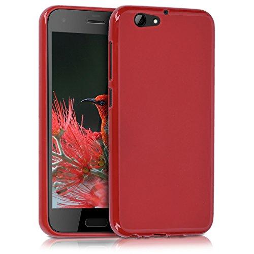 kwmobile Hülle kompatibel mit HTC One A9s - Hülle Handyhülle - Handy Hülle in Rot matt