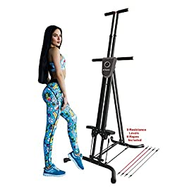 X-Factor Vertical Climber Stepper Climbing Stairs Exercise w...