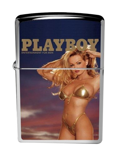 Zippo 9923 playboy cover july 1999 brushed chrome lighter NEW