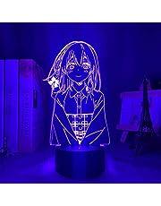 3D Nachtlampje Kanojo Okarishimasu Sumi Sakurasawa,Anime Figuur Illusie Lamp Spelkamer Kleurrijke Decoratie Geschenken Touch Afstandsbediening