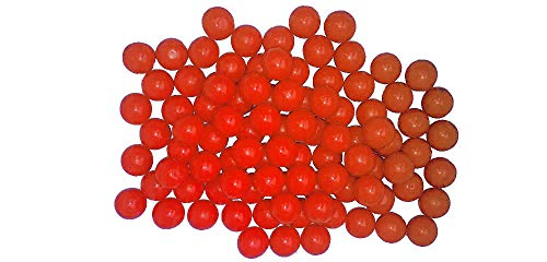 New Legion Rubberballs/Gummibälle Cal. 68 - im Pot 100 - orange