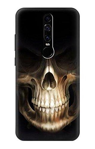 Skull Face Grim Reaper Hülle Schutzhülle Taschen für Huawei Mate RS Porsche Design
