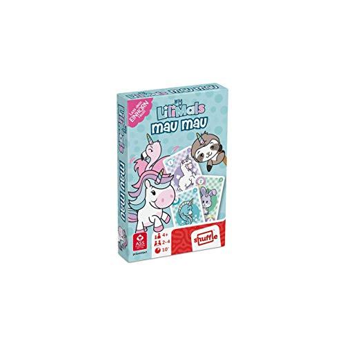 ASS Altenburger 22577450 myLilimals Unicorno Mau (38 carte da gioco in scatola pieghevole), Colore: rosa
