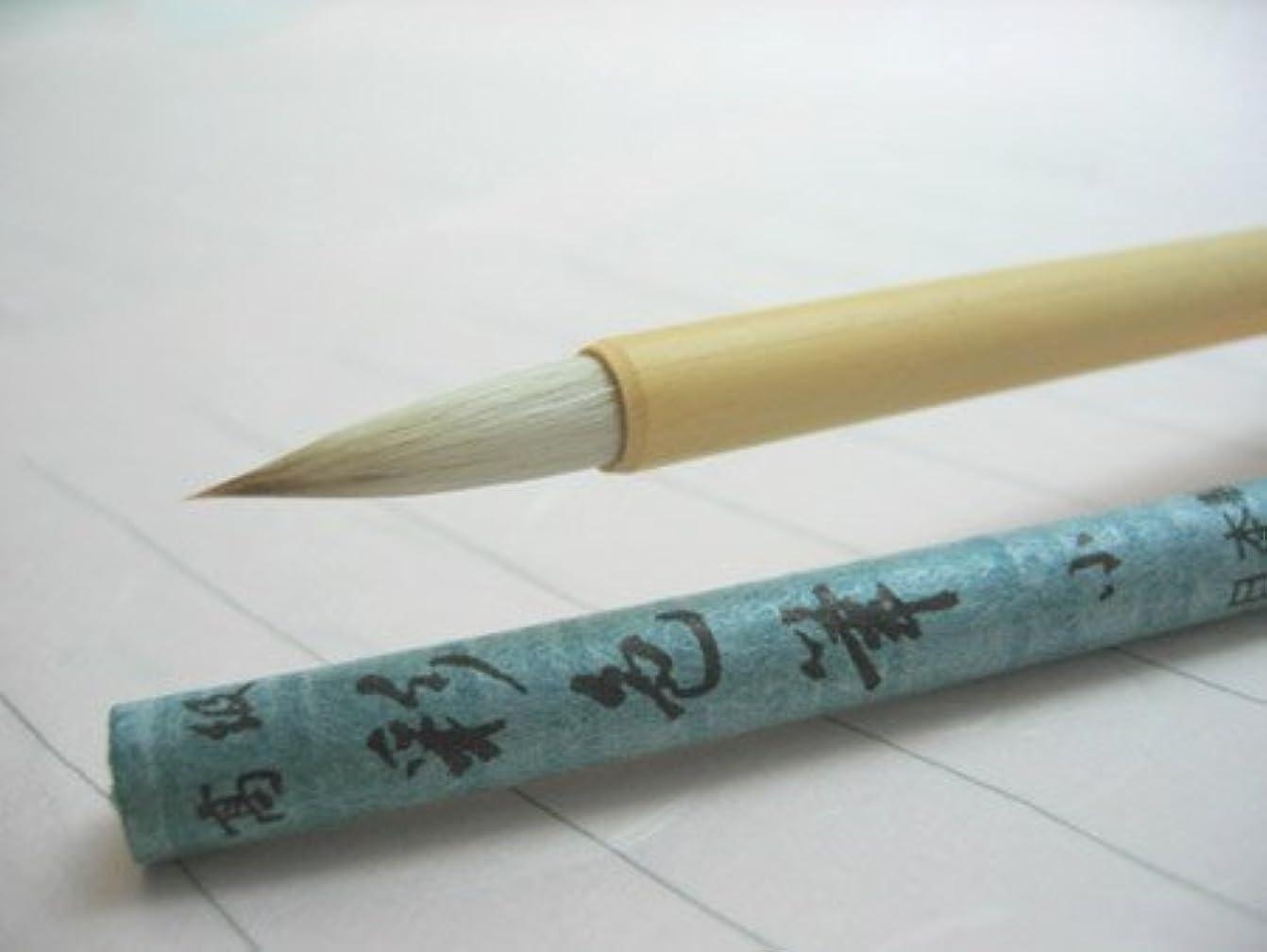 誘惑するシロナガスクジラ火山日本画?絵手紙用画筆 彩色筆 小