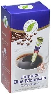 Jamaica Blue Mountain Coffee Blend Box with 18 Coffee Sticks By Serengeti Tea