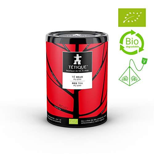 TÉTIQUE Té Rojo China Pu-Erh orgánico
