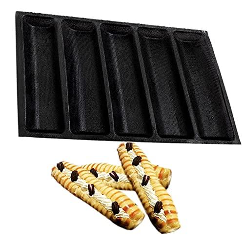 ZPF Silicone Salsiccia Muffa Non Bastone, 6 Slot pratiche novità Versatile Versatile Maker Hot Dog Kitchen Cooking Gadget, Stampo supplementare...