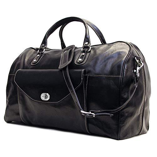 Floto Monteverde Leather Duffle Bag