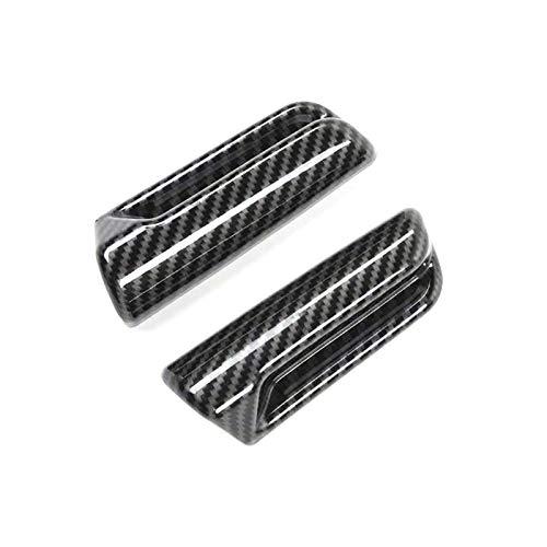 Huante para Jimny 2019 2020 coche de fibra de carbono asiento trasero regulable, mango interruptor de descolonización cubierta adhesivo accesorios