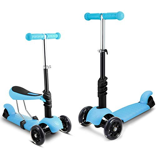 2-in-1 Kick Scooter with Removable Seat Now $39.99