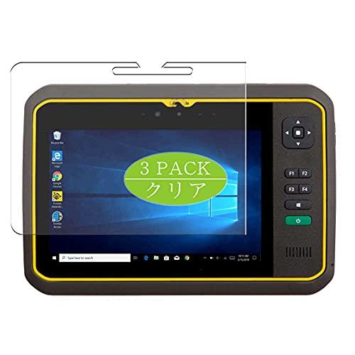 VacFun 3 Piezas Protector de Pantalla, compatible con Trimble T7 Tablet 7', Screen Protector Película Protectora (Not Cristal Templado Funda Carcasa)