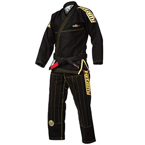 TATAMI Women's Estilo 5.0 Premier Brazilian Jiu Jitsu BJJ Gi - Black/Yellow - F1