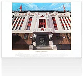 Arsene Wenger Signed Arsenal Print - Farewell To Highbury, Limited Edition of 50 - Autographed Soccer Photos
