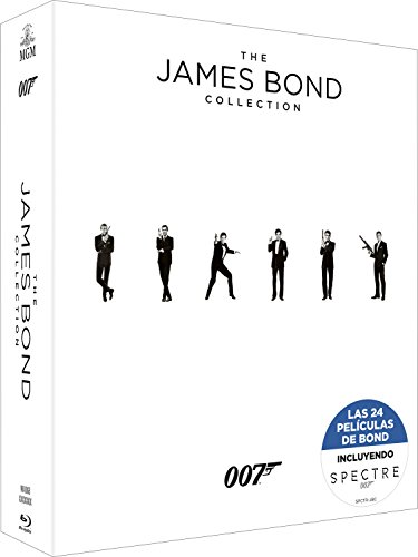 Bond Pack 24 Bd Col.Completa (Incluye Spectre) [Blu-ray]