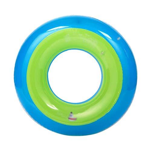 Schwimmreifen Pool Aufblasbarer Ring Schwimmen Ring Kinder Schwimmenschoß Erwachsene Baby Aufblasbare Mode Grüner Mann Rettungsbuoy im Freien (Size : L)