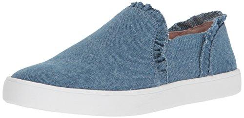kate spade New York Women's Lilly Sneaker Light Blue Denim 6.5 M US