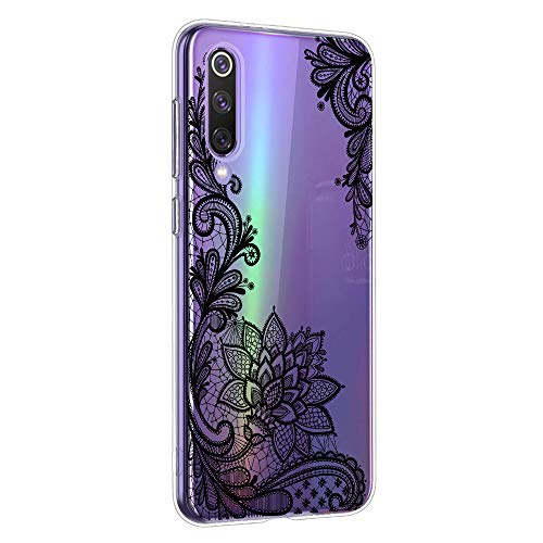 Oihxse Mandala Flores Encaje Patrón Serie Case Compatible con Samsung Galaxy A2 Core...
