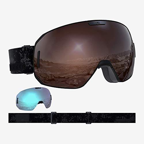 Salomon S/Max Access Schwarz, Skibrille, Größe One Size - Farbe Black