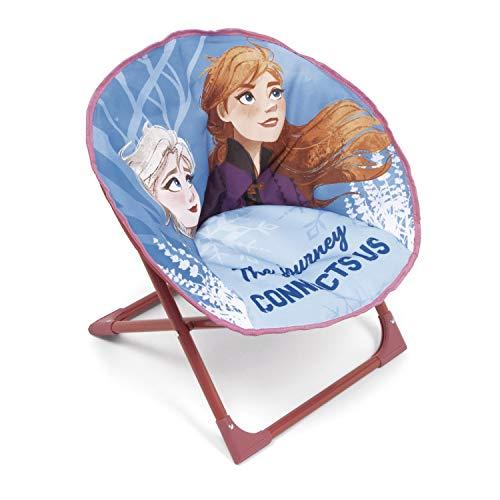 Familie24 Frozen Kindersessel gepolstert klappbar Sessel Fernsehsessel Faltsessel Kindermöbel Die Eiskönigin Anna ELSA Olaf Sven