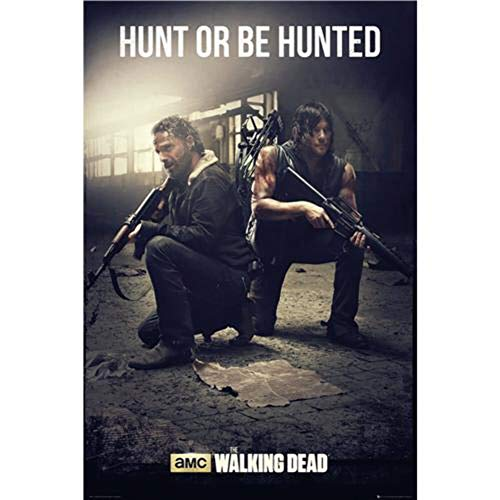 GB Eye Limited Uncharted 4 A Thiefs End Poster con diseño The Walking Dead Hunt, 61 x 91.5 cm