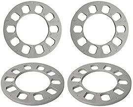 GDSMOTU 4PC 6.5mm 5 Lug Universal Wheel Spacers 5X108 5X110 5X112 5X114.3 5X120 fit Ford Toyota (4PC)