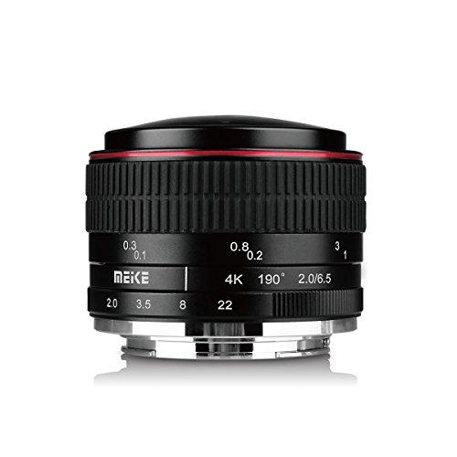 MEKE MK 6,5 mm Kreisförmige F/2.0 Objektiv Fisheye für mirorrless Fuji X-Mount Kameras X-T1 X-T2 X-T3 X-T30
