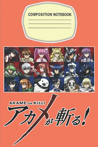 Akame Ga Kill Notebook Merch: Akame ga KILL! Art   Akame ga KILL Fanart  Gamer Journal   Diary   Notepad book   Planner Book Gamers   Notebook For Any Occasion Gifts in Work Office, Home, School...