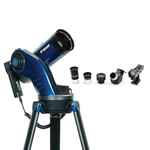 Meade Instruments 218005 StarNavigator NG Maksutov-Cassegrain Telescopio, Negro