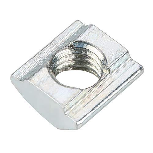 Tuerca en T Tuerca de cabeza de martillo, Tuerca de acero al carbono, Tuercas en T Tuercas ranuradas en T para perfiles de extrusión de aluminio Perfiles de aluminio