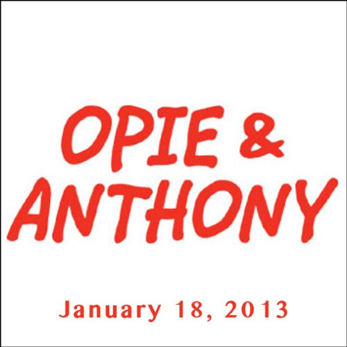 Opie & Anthony, Josh Gad and Dominic Monaghan, January 18, 2013 audiobook cover art