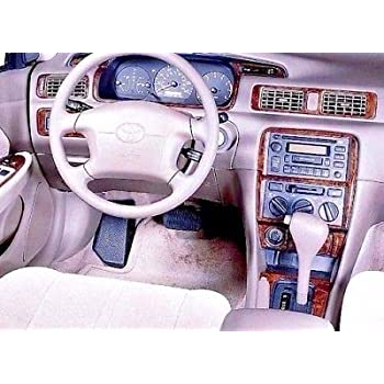 amazon com toyota avalon interior burl wood dash trim kit set 2000 2001 2002 2003 2004 automotive toyota avalon interior burl wood dash