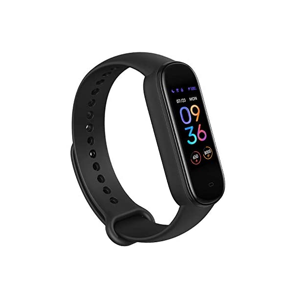 Amazfit Band 5 Fitness Tracker with Alexa Built-in, 15-Day Battery Life, Blood Oxygen,...