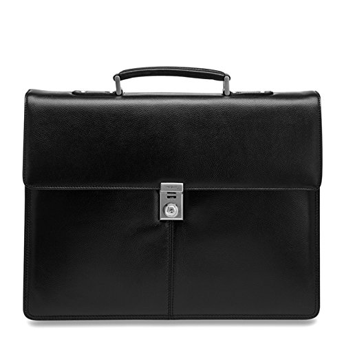 Picard Aberdeen schwarz 8265 ; Leder Businesstasche Aktentasche Umhängetasche ; viel Platz