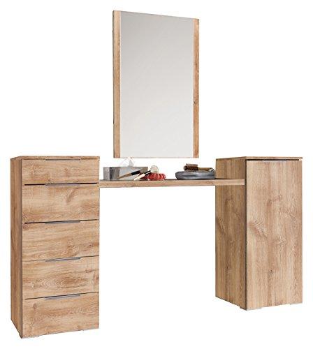 Fresh to go levelup Frisierkombination, Holz, plankeneiche, 40.5 x 172 x 102 cm