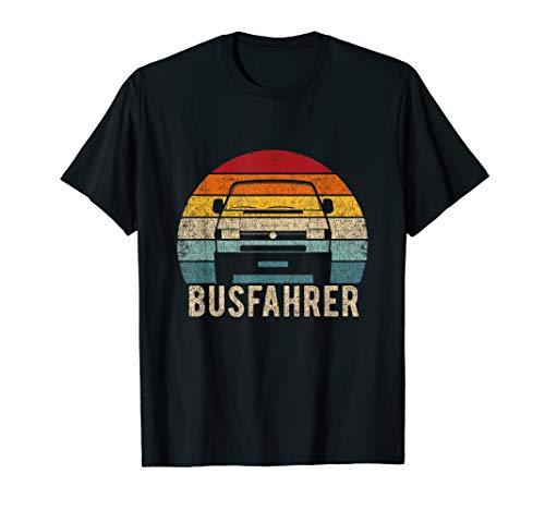T4 Bus Shirt Busfahrer Vintage Retro T-Shirt
