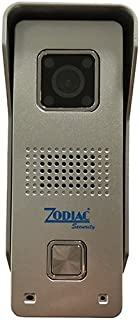 Zodiac Imago 房门对讲机 IP WIFI 720P, 灰色