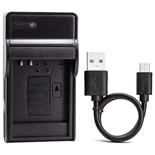 NB-4L USB Cargador para Canon PowerShot SD750 SD780 IS SD1000 SD1100 IS SD1400 IS A2200 A3100 IS, IXY Digital 60, IXUS 220 HS, Digital IXUS 70 Cámara y Más