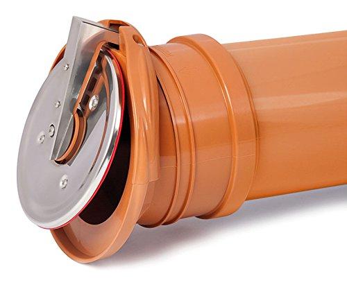 Pvc sé valvola di plastica di controllo lembo fine di attivare il drenaggio arretrato 160 millimetri