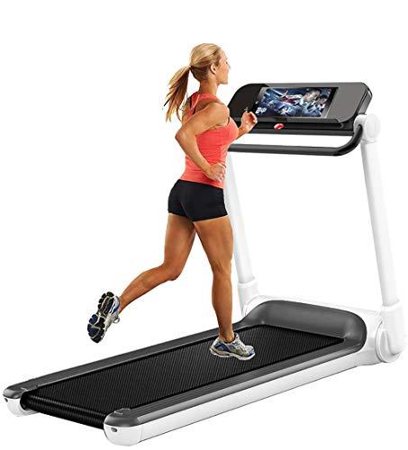 QHQH Tapis Roulant Pieghevole Motore da 3.0 HP Elettrico Treadmill Running Jogging Walking velocità Regolabile 1-8KM/H Schermo LED capacità Carico 120 kg Attrezzatura Palestra