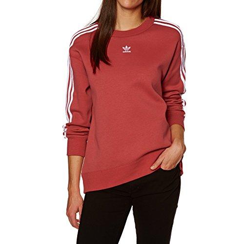 adidas Damska bluza Crew czerwony Rawred 34