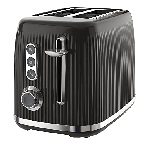Breville Bold Black 2-Slice Toaster with High-Lift and Wide Slots   Black...