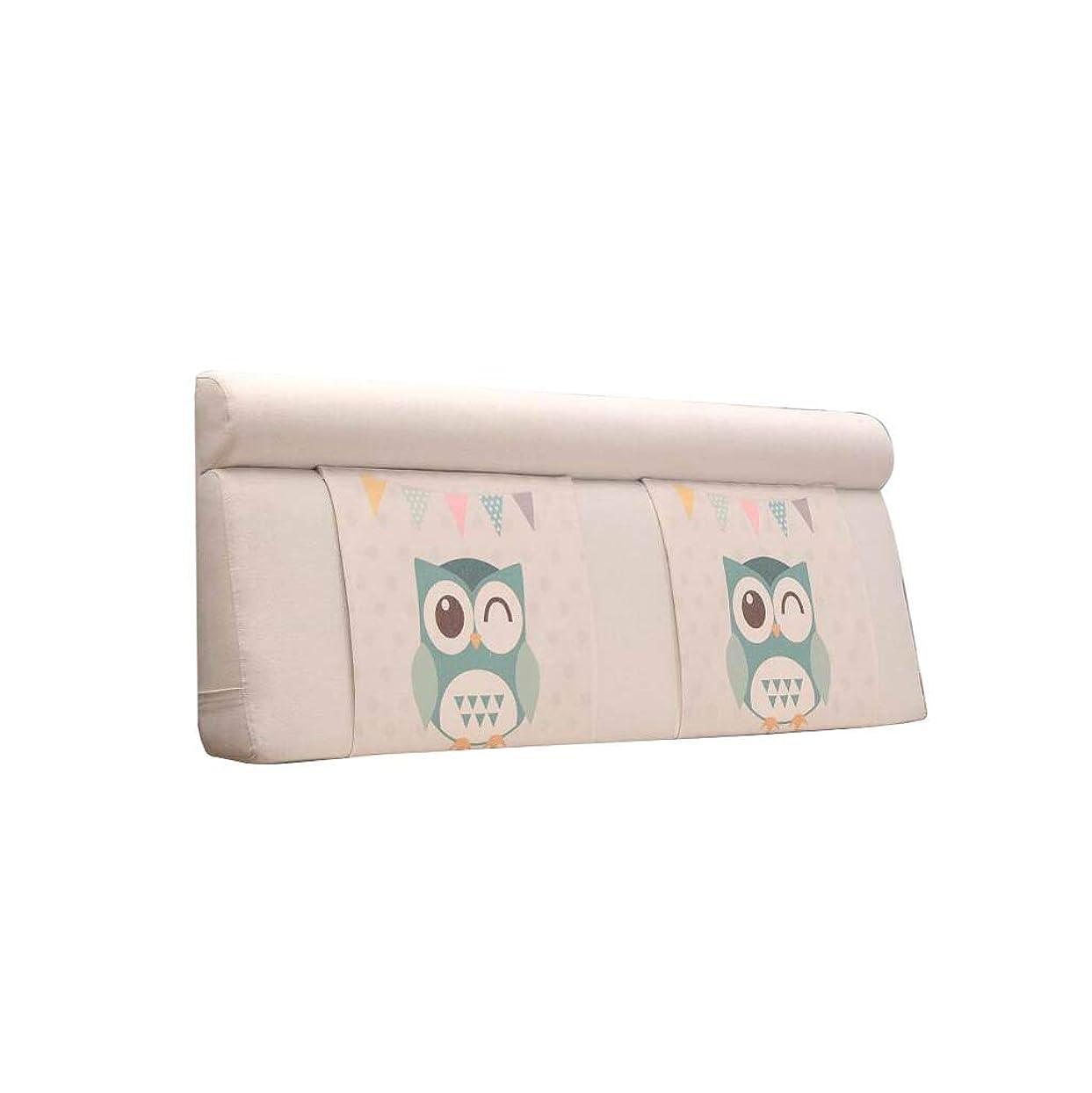 クローントランペット写真を描くJAZC ヘッドボード クッショ ベッドサイドソフトケースダブルクロスウォッシュ&ウォッシュピローベッドラージクッションバックレスト畳ベッドカバーベッドサイドなし (Color : 12, Size : 150X60cm)